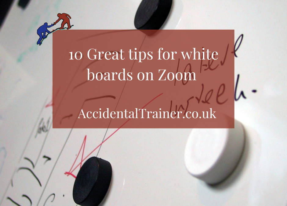 10 Great tips for white boards on Zoom