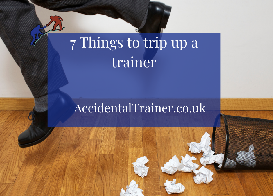 7 Things to trip up a trainer